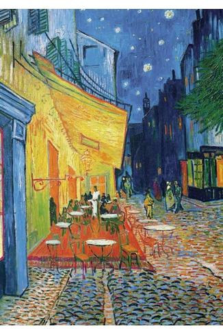 VAN GOGH - LE CAFE LE SOIR - 1000 PIECES