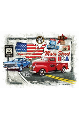 OLD ROUTE 66 - 1000 PIECES