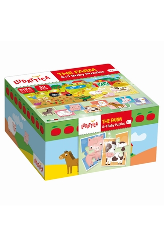 PUZZLE BABY PUZZLE LA FERME - LUDATTICA