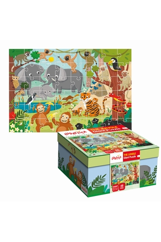 GIANT PUZZLE LA JUNGLE - LUDATTICA