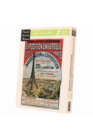 AFFICHE PLM: L'EXPOSITION UNIV -