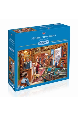 HIDDEN TREASURES - 1000 PIECES