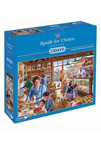 SPOILT FOR CHOICE - 1000 PIECES