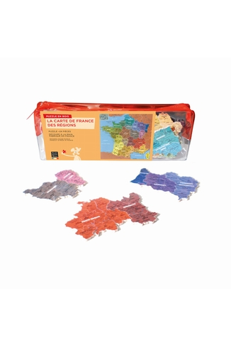 CARTE DE FRANCE REGIONS HC - GEOGRAPHIE