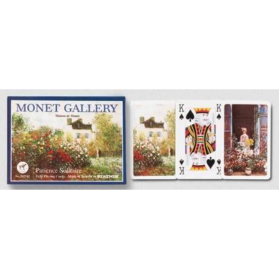 Coffret de 2 jeux de cartes de patience Ces cartes de petit