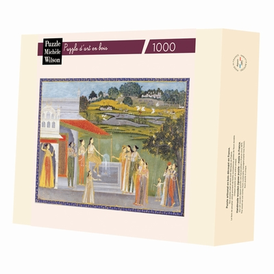 <b>Hand-cut art wooden jigsaw puzzle of 1000 pieces - Made