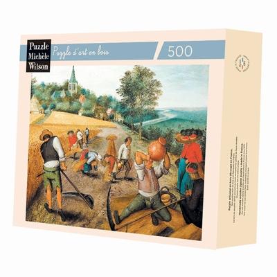 <b>Puzzle d'art en bois de 500 pièces, découpé à la main en