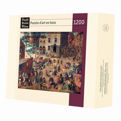 <b>Puzzle d'art en bois de 1200 pièces, découpé à la main en