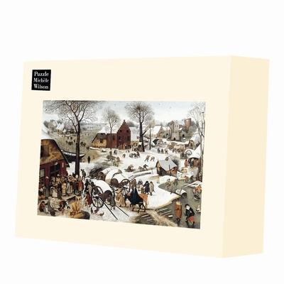 <b>Puzzle d'art en bois de 1500 pièces, découpé à la main en