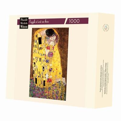 <b>Puzzle d'art en bois de 1000 pièces, découpé à la main en