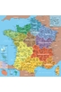 CARTE DE FRANCE REGIONS - GEOGRAPHIE