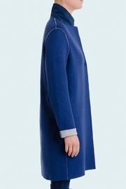 Manteau en Jersey de Cachemire Double Face, forme oeuf,