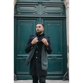 Manteau by Spontini - col officier - 2 poches plaquées - 2