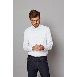 Chemise slim-fit en coton-lycra by Spontini pour homme. -