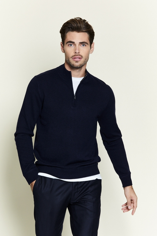 Pull zip by spontini - col camionneur - fermeture zip -