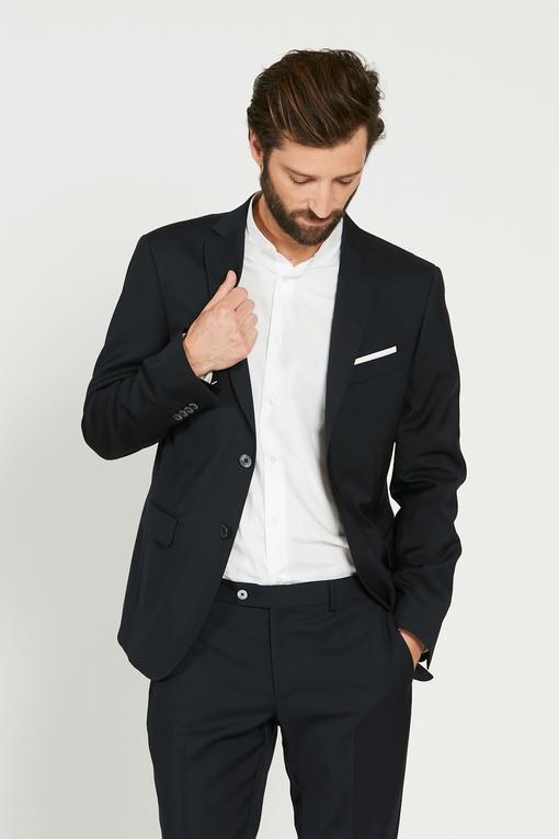 Costume by spontini - en laine vierge - coupe ajustée - 2