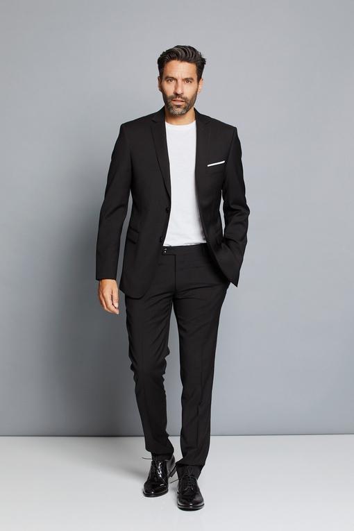 Costume by spontini - coupe ajustée - 2 poches interieurs -