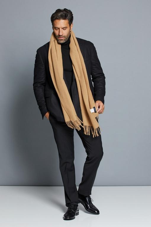 Veste Spontini en laine - revers croisé - légèrement épaulé