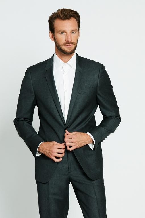 Costume ajustée by spontini - 100% laine vierge - coupe