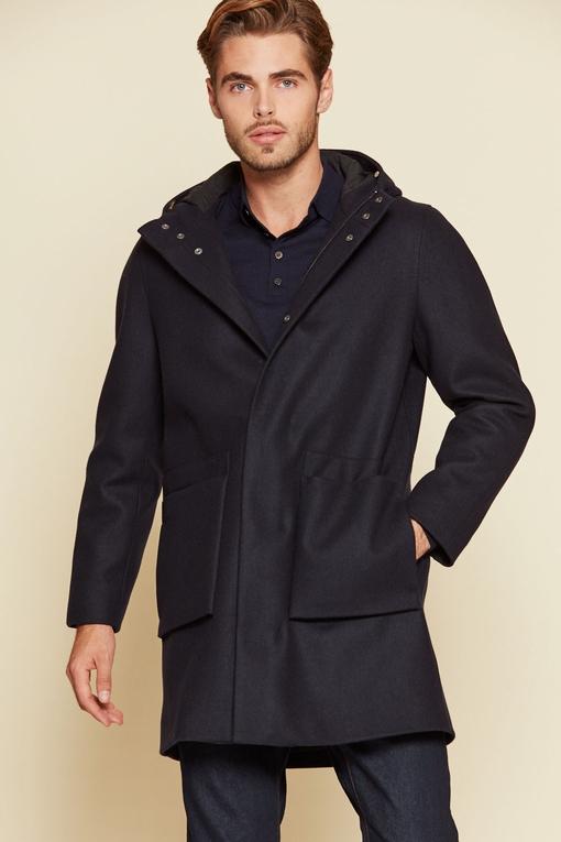 Manteau by Spontini - entièrement doublé - 2 poches plaquées