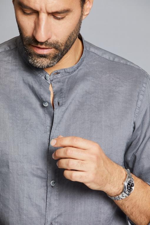 Chemise en coton by Spontini pour homme. - Manches longues
