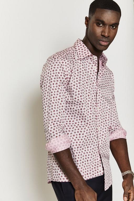 Chemise slim-fit en coton by Spontini pour homme. - En