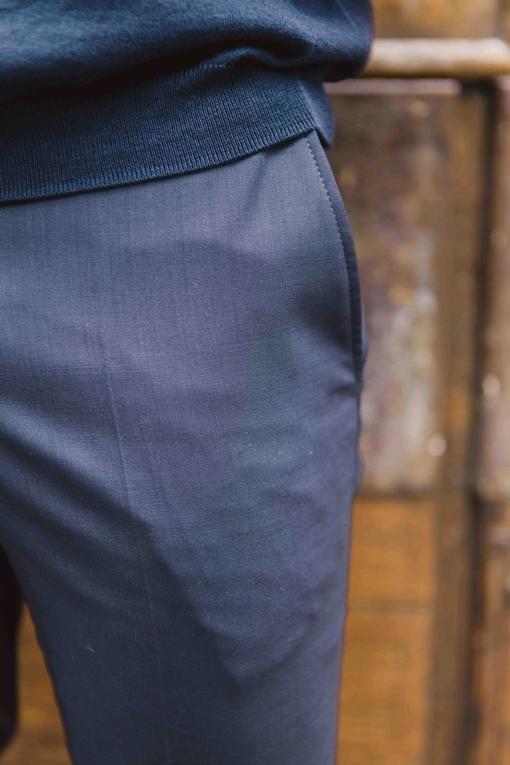 Pantalon , by spontini - coupe ajustée - le pantalon a une