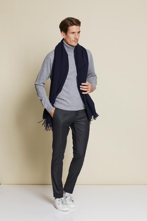 Pull col roule en laine et cashemre by Spontini pour homme.