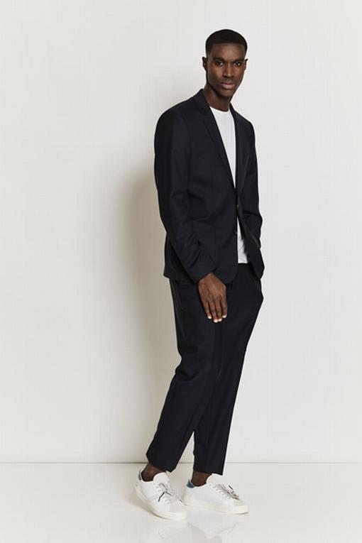 Costume homme by Spontini  - Fermeture par deux boutons -