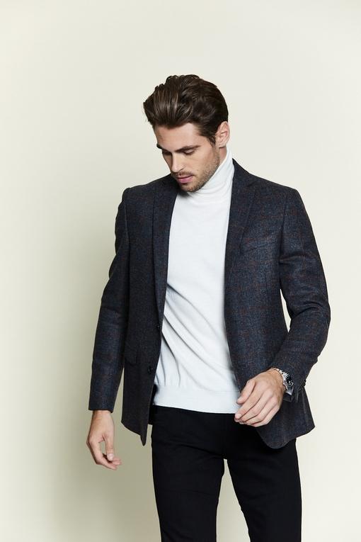 Veste en laine by Spontini pour homme. - légèrement épaulé -