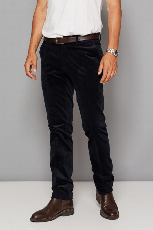 Pantalon by Spontini pour homme.  - Velours cotélé, fine