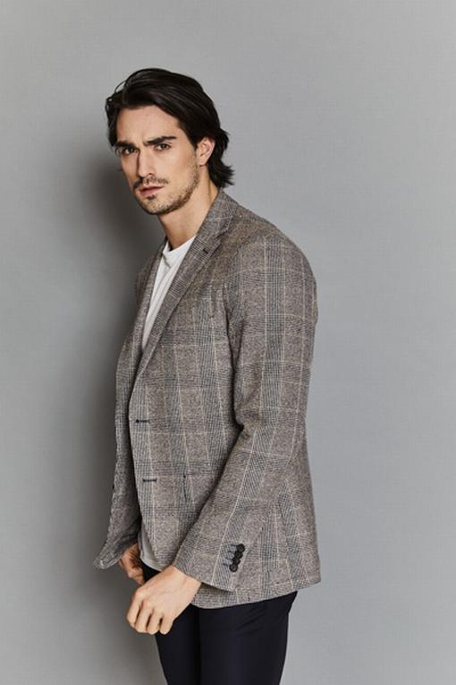 Veste en viscose et laine by Spontini pour homme. -