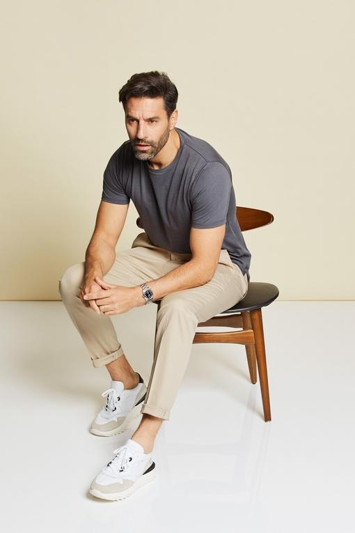 Pantalon en coton by Spontini pour homme.  - En coton