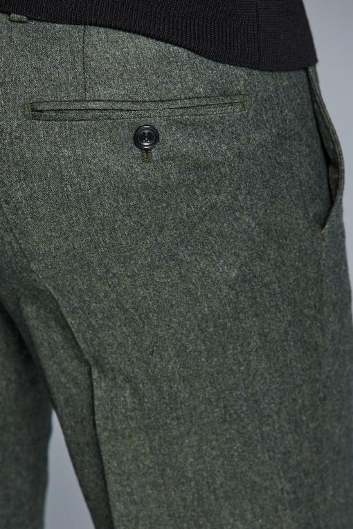 Pantalon slim, by spontini - coupe ajustée - Tissu reda