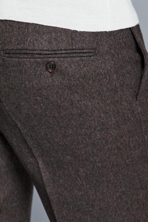 Pantalon slim, by spontini - coupe ajustée - avec cordons -