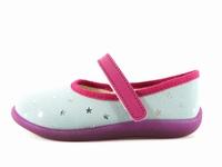 Description du modèle chaussure enfant fille Bellamy rouky.