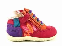 la paire de chaussures biflorid de kickers présentée ici